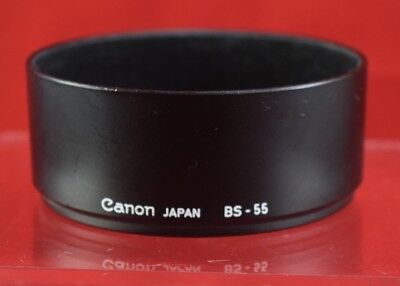 Canon BS-55 Lens Hood Shade for FD 50mm f1.4, FD 50mm f1.8 - Used