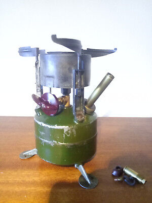 Vintage Military Rogers M1950 gasoline camping stove 1952 not radius hasag