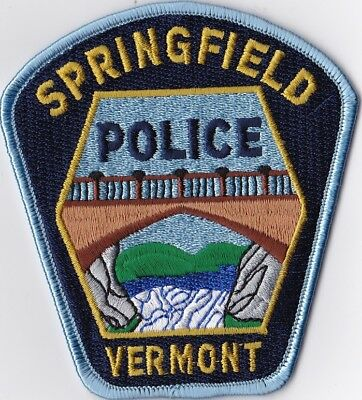 Springfield Police Patch Vermont VT