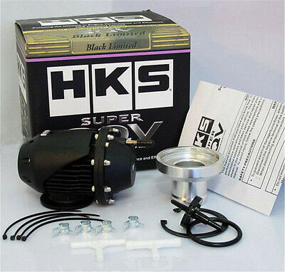 New Hks Ssqv 2 Blow Off Valve Black Limited Full Set
