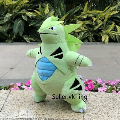Nintendo Pokemon Center Go Plush Toy Tyranitar Evolution Stuffed Animal Doll 11""