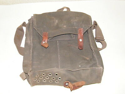 Genuine Vintage Military Issued Shoulder Bag Satchel Retro Army Wwii C1