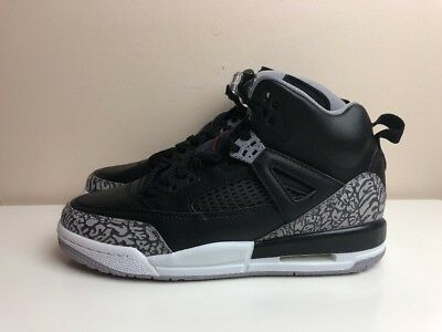 info for 83022 75e13 Nike Air Jordan Spizike BG GS Shoes Black Grey UK 4 EUR 36.5 317321 034