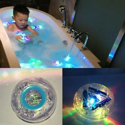 Uk Party In The Tub Toy Bath Water Led Light Kids Waterproof Children Disco Toys