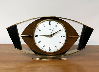 50s 60s Stunning Iconic Original Metamec Eye Shape Clock