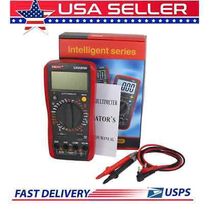 Digital Multimeter 30 Ranges Auto Power Volts Capacitance Amps Ohms  UA9205N #3