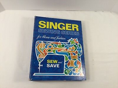 Vintage Singer Sewing Series For Home And Fashion Book 1972 ~ 5-Ring HC