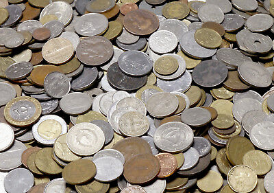 Bulk World Coins - Choose Mixed or Country and Quantity
