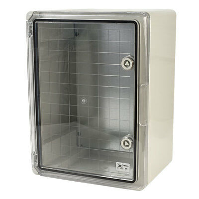 Hylec DED015 Plastic Enclosure with Transparent Door 30 x 40 x 22cm