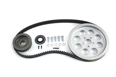 Rear Belt and Pulley Kit Alloy,for Harley Davidson motorcycles,by V-Twin