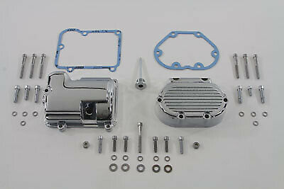 Transmission Side Cover and Top Cover Set Chrome,for Harley Davidson motorcyc...