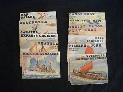 1955 Topps Rails and Sails cards VG/EX/NMT CHOICE/QUANTITY PICK AS YOU NEED