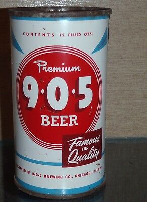 905  Flat Top Beer Can 905 Brewing Chicago Illinois Famous For Quality