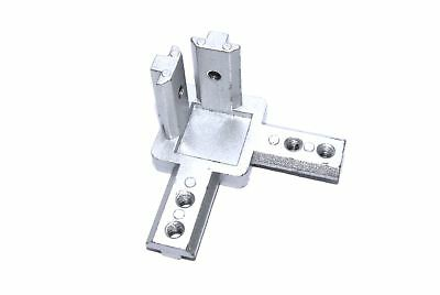 4040 3-Way Internal Corner Bracket Aluminium Profile Tnut CNC 3D Flux Workshop