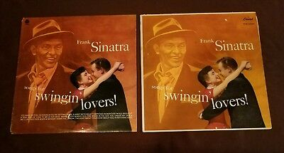 Frank Sinatra lot of 2 Songs for Swingin Lovers! LP Capitol SM 653 W 653