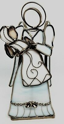 Tiffany Stained Glass Collectors Society Angel Numbered Date 755/15000 Intricate
