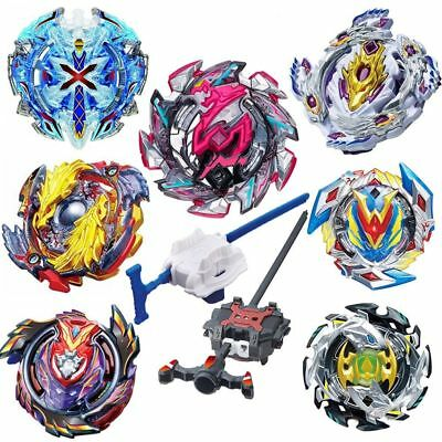 Beyblade Burst Starter Bey Blades Metal Fusion Grip Toy Bayblade With Launcher B