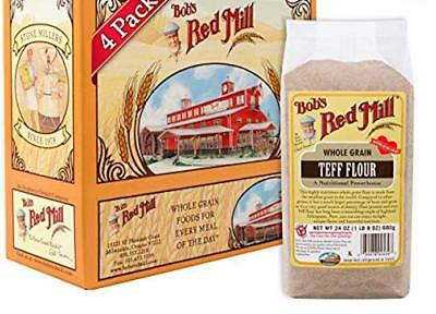 Bob's Red Mill Whole Grain Teff Flour, 24 Ounce (Pack of 4)