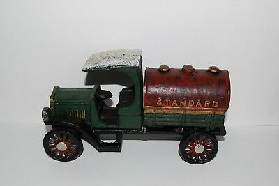 Cast Iron Standard Oil Delivery Truck