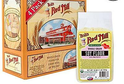 Bob's Red Mill Organic Soy Flour, 16 Ounce (Pack of 4)