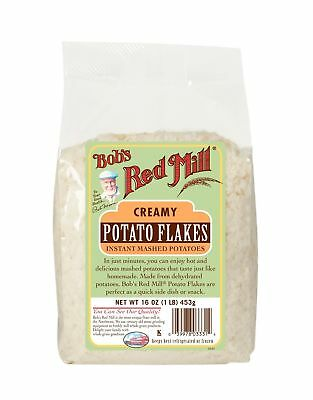 Bob's Red Mill Potato Flakes, 16 Ounce (Pack of 4)