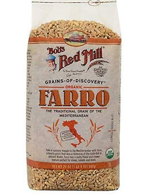 Bob's Red Mill Organic Farro, 24 Ounce (Pack of 4)