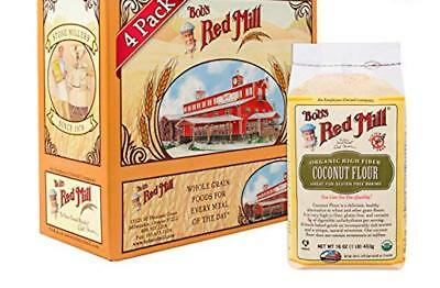 Bob's Red Mill Organic Coconut Flour, 16 Ounce (Pack of 4)