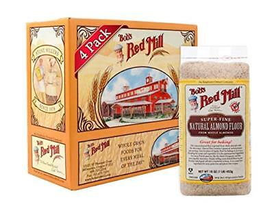 Bob's Red Mill Natural Almond Flour, 16 Ounce (Pack of 4)