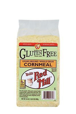 Bob's Red Mill Gluten Free Cornmeal, 24 Ounce (Pack of 4)