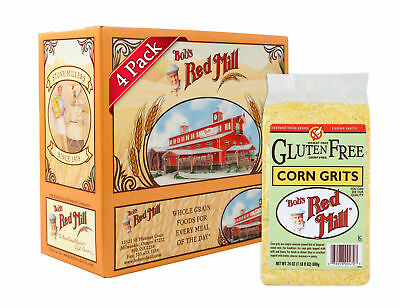 Bob's Red Mill Gluten Free Corn Grits/Polenta, 24 Ounce (Pack of 4)