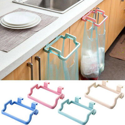 Hanging Trash Garbage Rubbish Kitchen Carrier Plastic Bag Bin Sack Hanger Holder