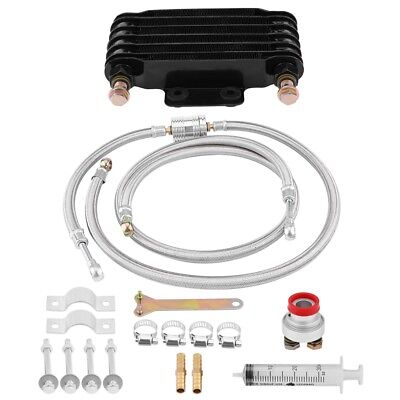 Engine Oil Cooler Radiator System Kit for Honda GY6 100CC-150CC Engine 85ml