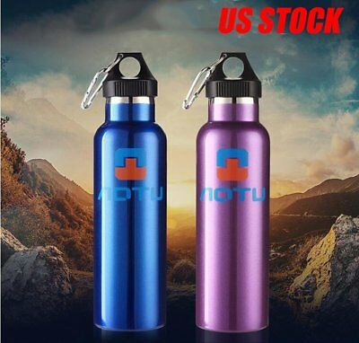Champ Hot Cold Unbreakable 12 Oz Stainless Steel Vacuum Bottle