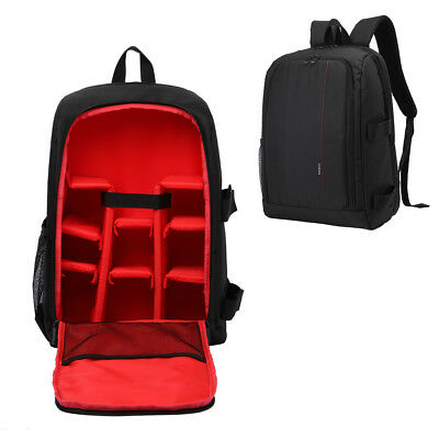 LARGE Outdoor DSLR SLR Camera Backpack Rucksack Bag Case For Nikon Sony Canon