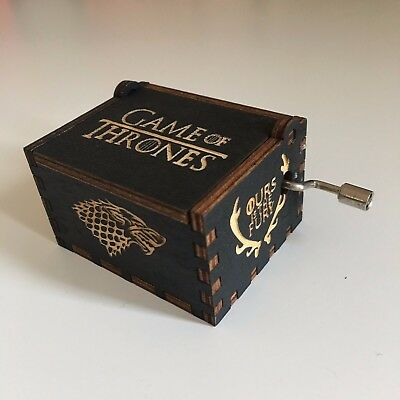 Game Of Thrones Harry Potter Star Wars Moana Music Box Theme Hand Crank Carved