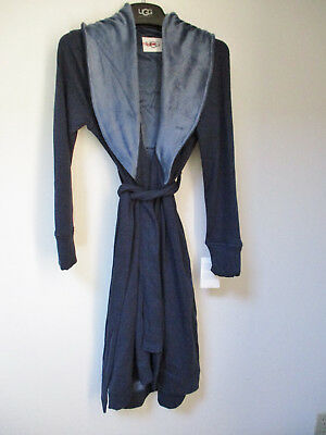 8a8c2e1cc5 UGG Women s DUFFIELD ROBE Size X-Small NIGHTSHADE Heather Blue NWT  125 MSRP