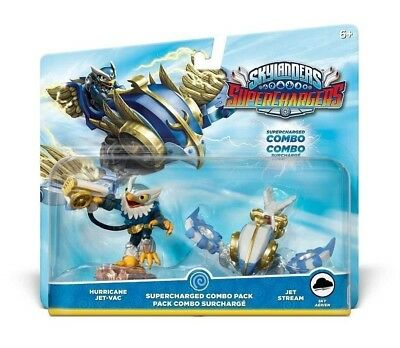 Skylanders Superchargers Supercharged Combo Pack - Hurricane JET-VAC & JET A7