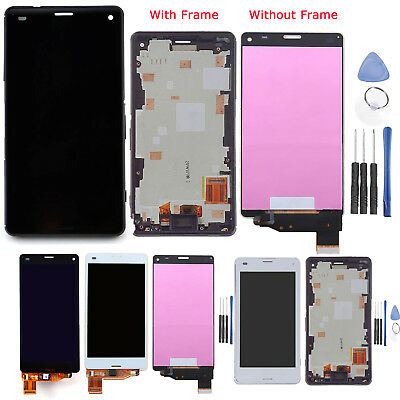 For Sony Xperia Z3 Compact Mini D5803 D5833 LCD Display Touch Screen Digitizer #