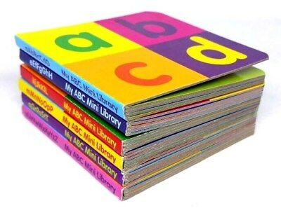 My ABC mini library children book set, gift, learning, reading