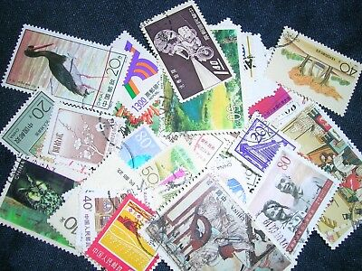 China Postage Stamps over 100 stamps mixed  great condition
