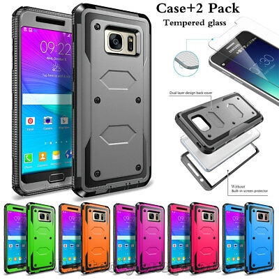 Samsung Galaxy Note 5 Heavy Duty Rugged Shockproof Case With Screen Protector