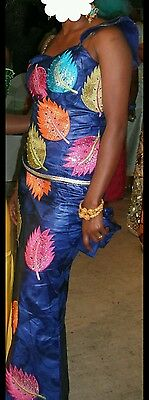 Women/Ladies two piece African outfit