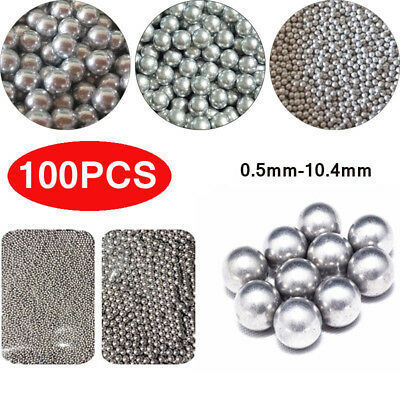 100*Industrial Aluminum Balls High Precision Solid Loose Beads 0.5mm-10.4mm