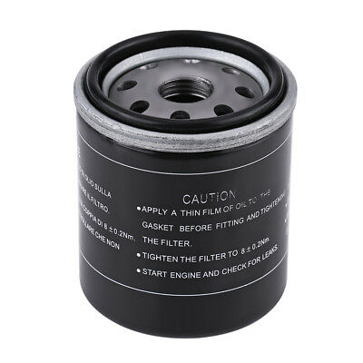Motorcycle Oil Filter for Piaggio 125 150 200 250 Vespa X7 X8 X9 GT