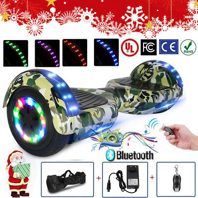 6,5 Zoll Hoverboard Overboard E-Skateboard Self Balance Scooter Offroad COOL LED