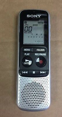 Sony Icd-Bx140 4Gb Digital Dictaphone Dictation Machine Mint Condition