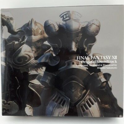 Final Fantasy XII FF12 Soundtrack CD Box Set Japan
