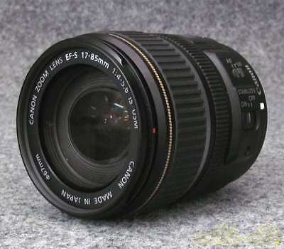CANON EF-S17-85mm F4-5.6 IS USM from japan (839
