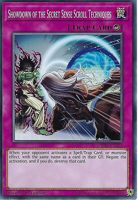 Yu-Gi-Oh: Showdown of the Secret Sense Scroll Techniques - MP18-EN221 - 1st Ed