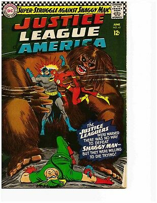 JUSTICE LEAGUE OF AMERICA #45 (June 1966) Very Good-